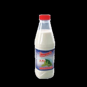Молоко коров'яче питне пастеризоване м.ч.ж. 2,5%