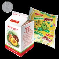 Йогурт з фруктовим наповнювачем «Персик-маракуйя» м.ч.ж. 2,5%