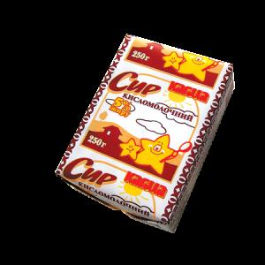 Сир кисломолочний м.ч.ж. 5%