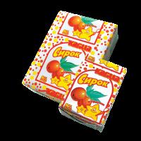 Сирок солодкий з курагою м.ч.ж. 8%