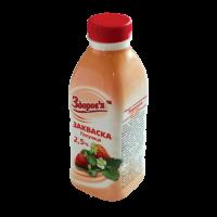 Закваска з фруктовим наповнювачем «Полуниця» м.ч.ж. 2,5%